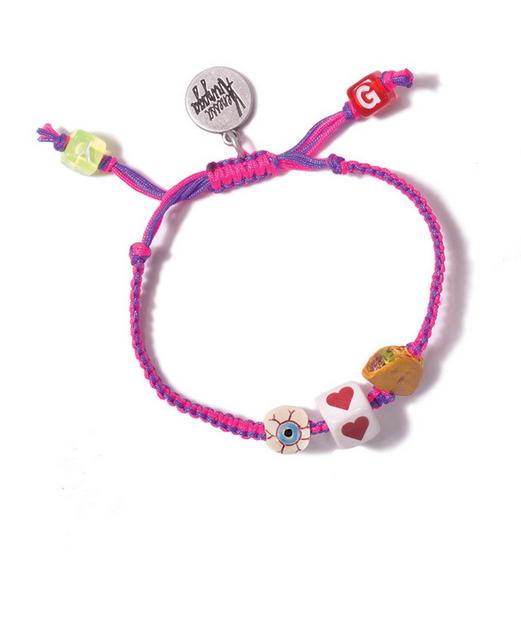 Venessa Arizaga I Heart Tacos Friendship Bracelet