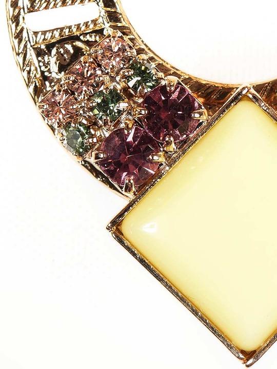 Anton Heunis Candy Store earrings in Lemon