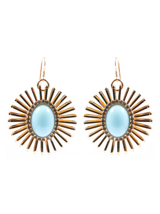 Anton Heunis Candy Store earrings in Powder Blue