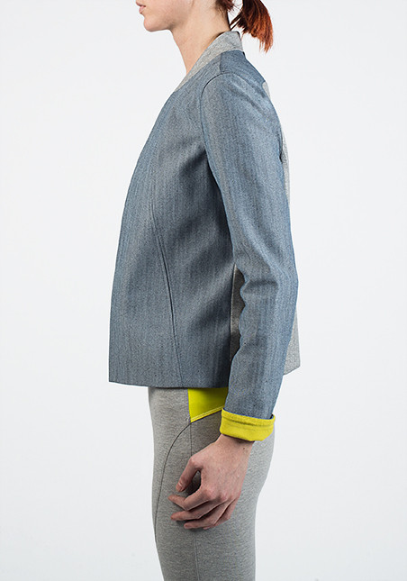 VPL Capulete Sweat Neo Tux: Light Denim