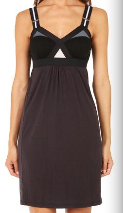 VPL Convexity Breaker Midi Dress: Black Skin