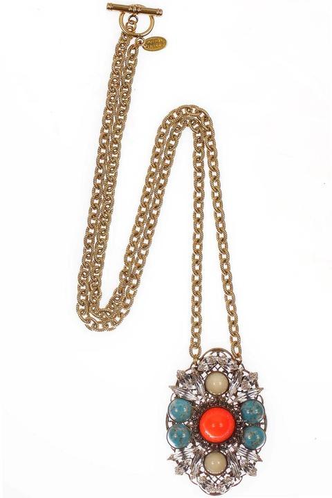 Anton Heunis Cabochon Pendant necklace
