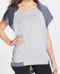 VPL Cover Up Top: Heather Grey