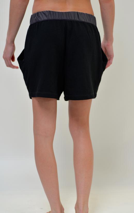 Deflection Shorts: Black