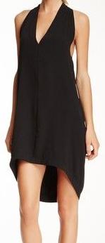 VPL Exertion Dress: Second Skin Fabric in Black