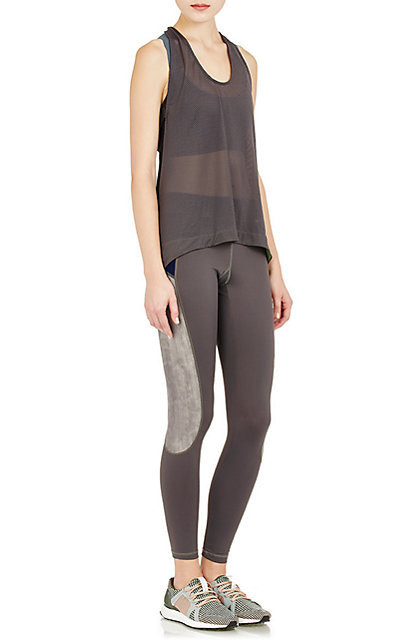 VPL Exertion Tank: Charcoal x Moss