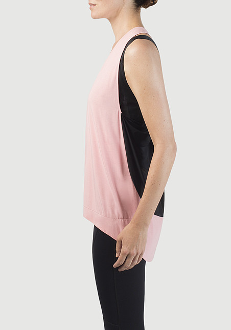 VPL Exertion Tank: Fluoro Coral