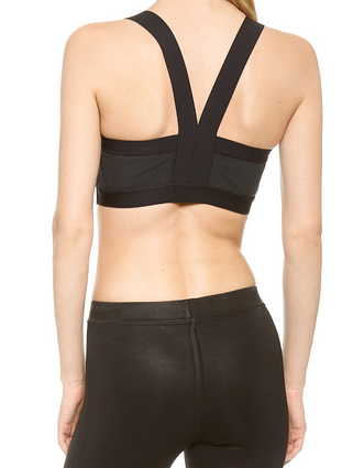 VPL Insertion Bra W: BLACK