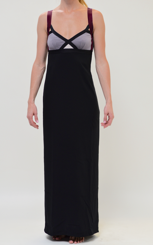 VPL Insertion Narrow Maxi: Black