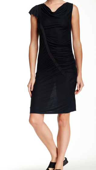 VPL Swag Midi Dress: Black