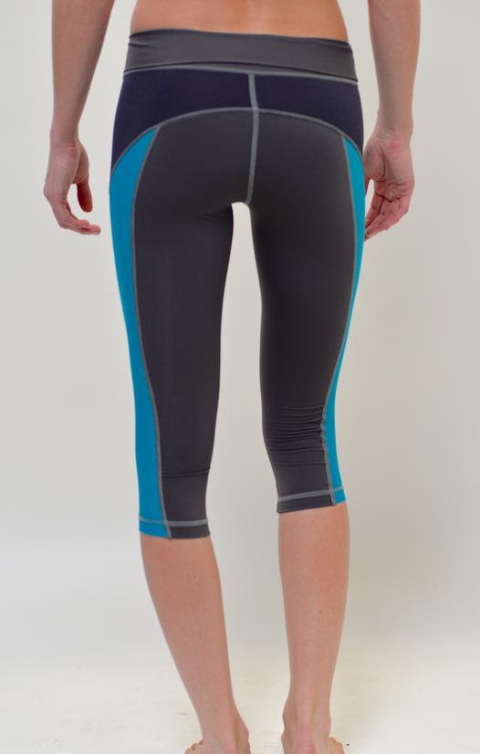 VPL X-Curvate Capri: Black x Turquoise