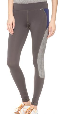 VPL X-Curvate Legging W: Charcoal x Lavendula Print