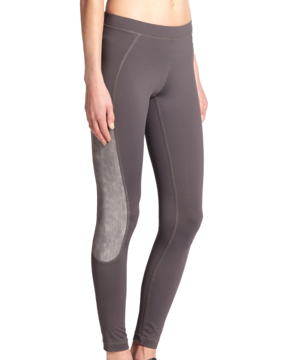 VPL X-Curvate Legging W: Charcoal X Weather Grey