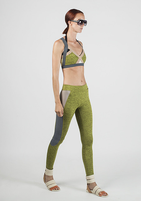 VPL X-Curvate Legging W: Lemon Lime