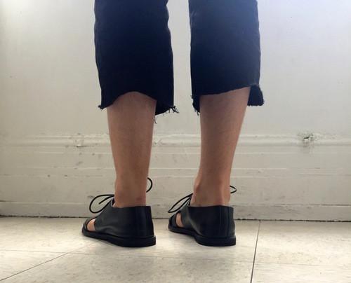 Men's Intentionally Blank INSIDE black