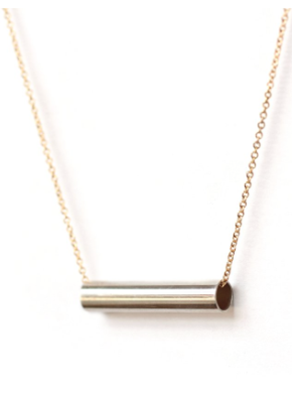 Silver Sloop Necklace