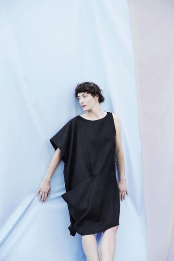 Portland Garment Factory Asymmetrical Pocket Dress