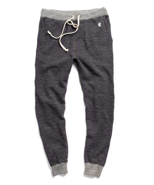 Todd Snyder + Champion MALFILE SWEATPANT IN CHARCOAL MIX