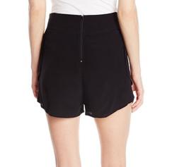 Mink Pink Crepe Black Shorts