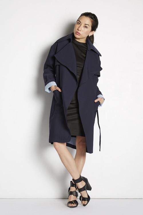 Bonded Trench Coat