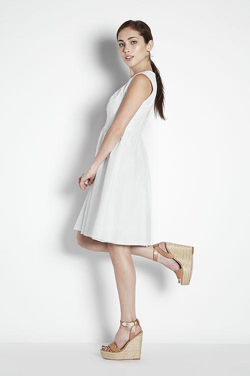 Eve Gravel Coconut Dress