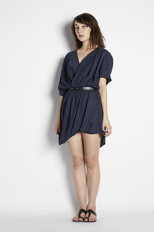 Ziggy Roll Sleeve Dress