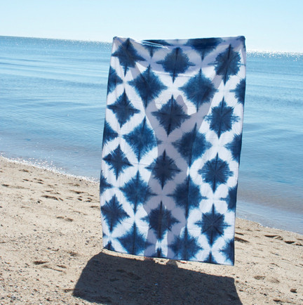 Katrin Reifeiss Diamond Beach Blanket