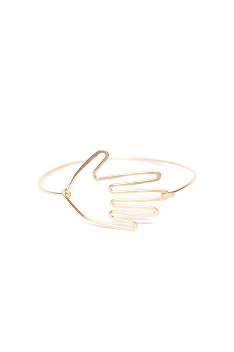 Hand Cuff Bracelet by Mary MacGill