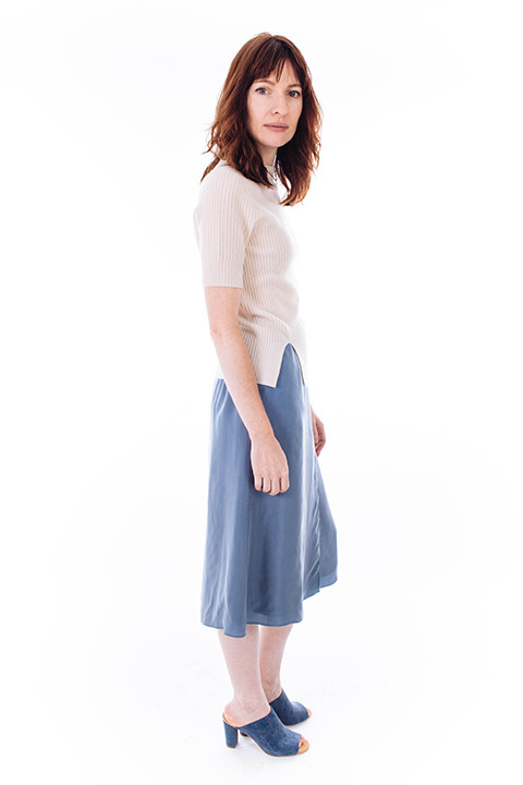 PLANTE Marigold Skirt in Blue