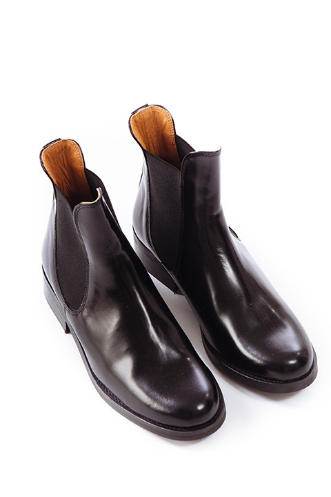 Ganni Sue Shine Boot in Black