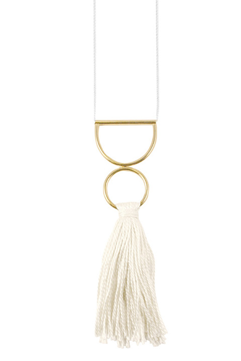 YOUNG FRANKK Tassel Necklace