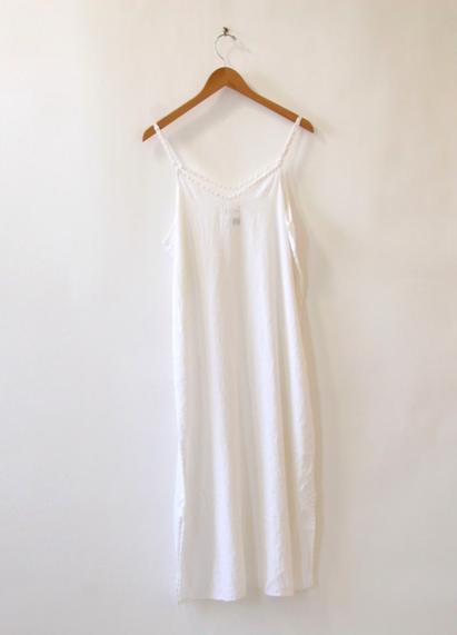 White Linen Dress by Namesake Vintage
