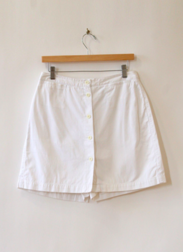 Namesake Vintage White Skort