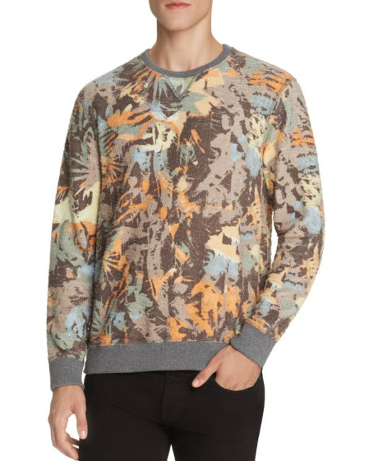 Sol Angeles Camo Floral Pullover