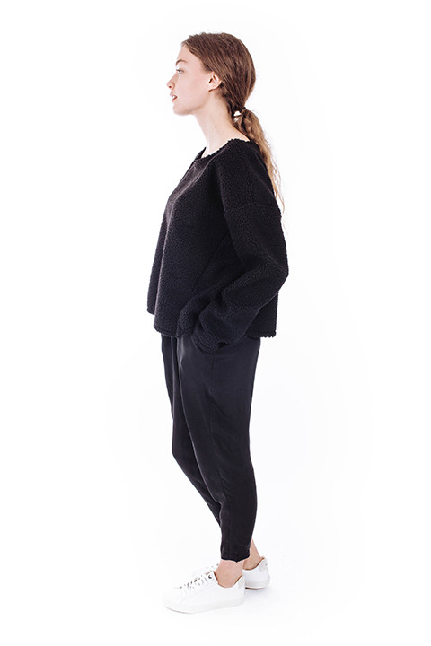 Priory Suma Sweater in Black