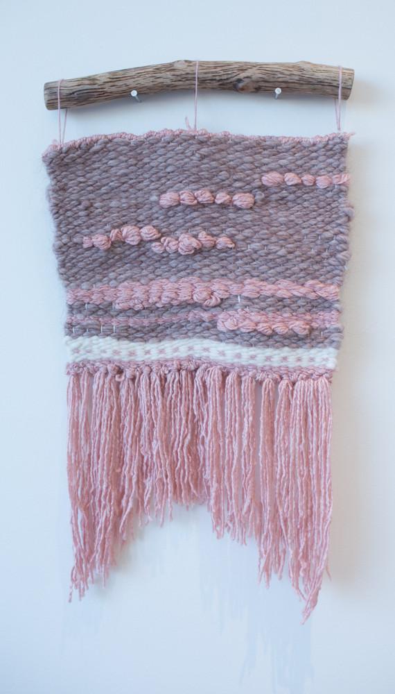 ELODIE MRA Pink Wall Hanging