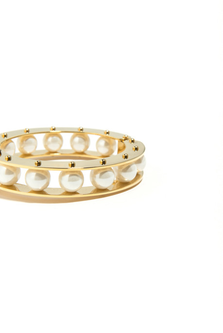 Lele Sadoughi Pearl Slider Bracelet