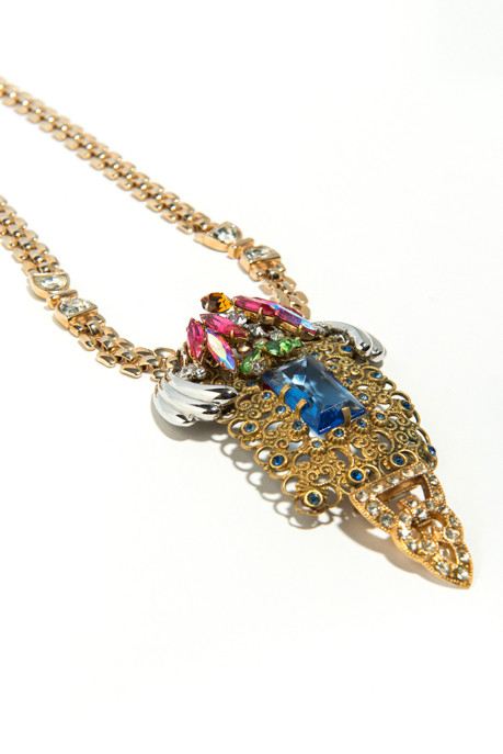 Musa Tryon Vintage Pendant Necklace