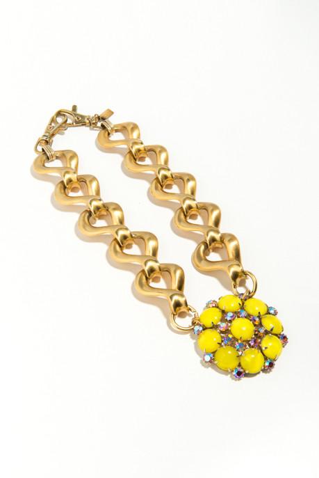 Yellow Pendant Necklace (c.1940)