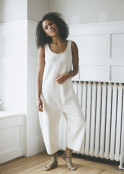 Ilana Kohn Gary Jumpsuit - French Terry Cream