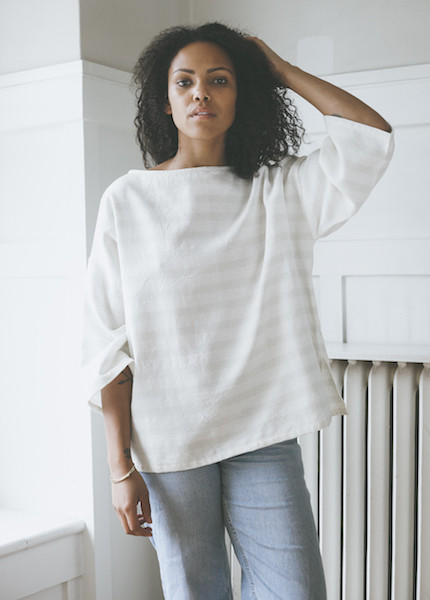 Proud Mary Huipile Top - White