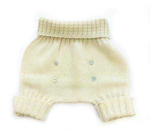Le Toit De La Lune Ecru Knit Set - Coucou Boston