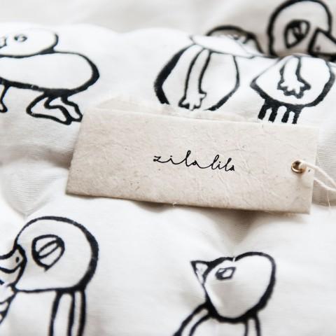 Zilalila Bird Blanket - Dodo Les Bobos