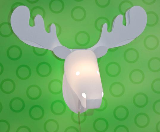 Zzzoolight Moose Trophy DIY Ceiling/Wall Lamp - Dodo Les Bobos