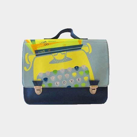 Miniseri Typewriter School Bag - Dodo Les Bobos