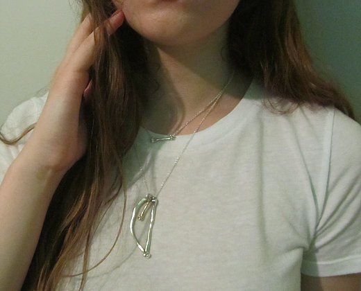 Points & Places Collected Fragments Necklace