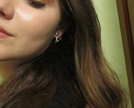 Points & Places Relic Hoop Earrings