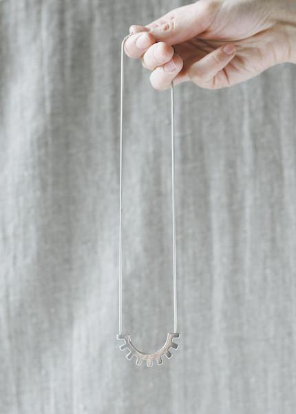Tiro Tiro Cerrado Necklace in Silver