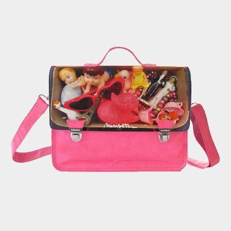 Miniseri Pink Toys School Bag - Dodo Les Bobos