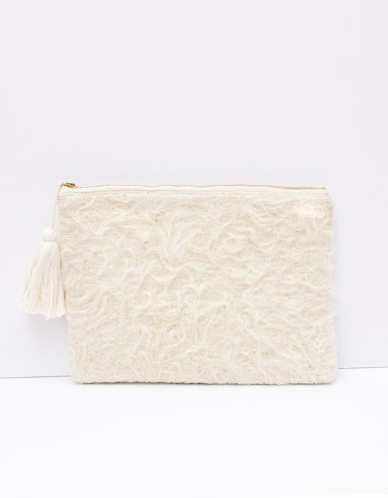 Proud Mary Chamula Sherling Clutch